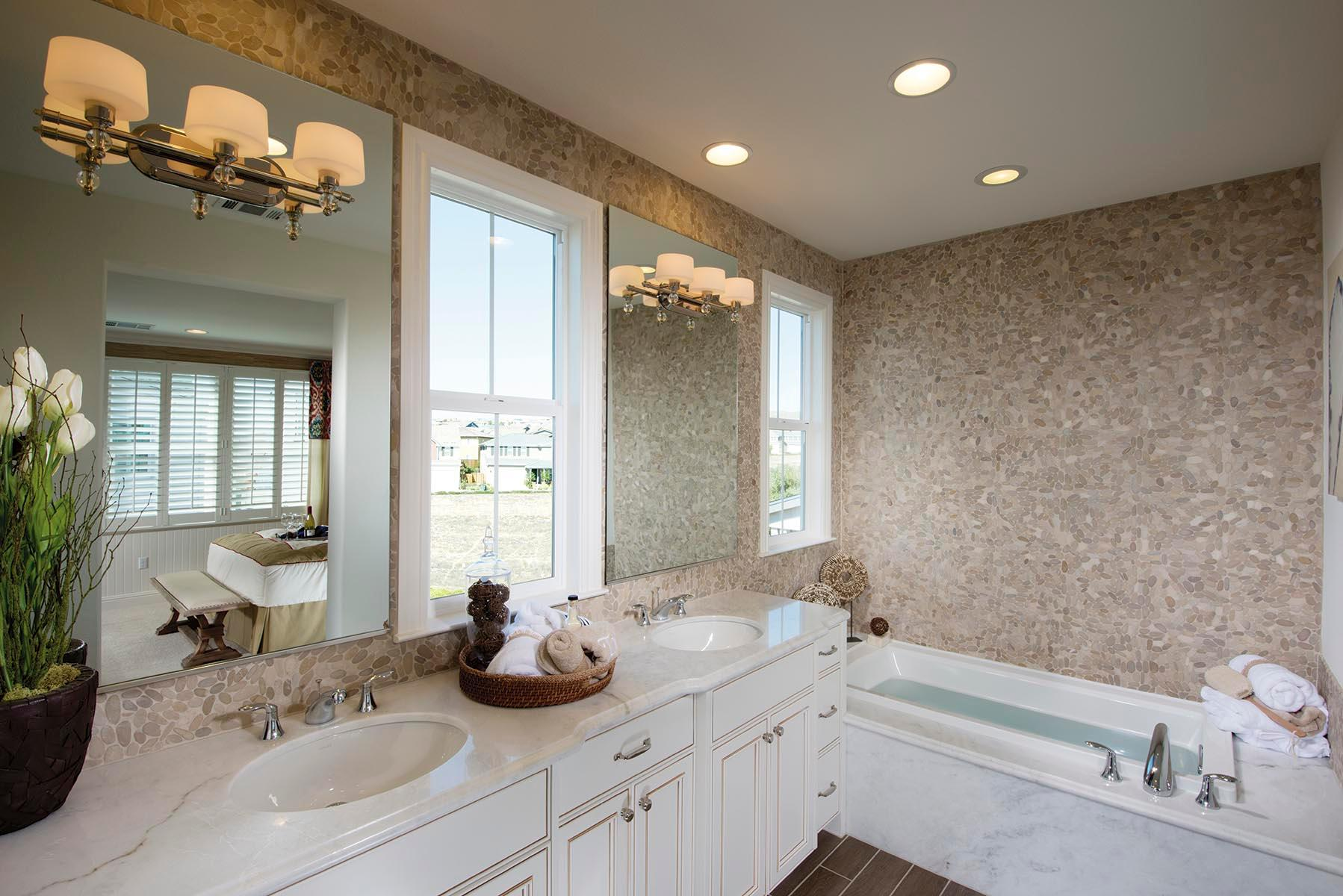 Hampton Bay Dakota Collection 3 Light Bathroom Vanity: Progress Lighting P2927-104WB Fortune Collection 3-Light