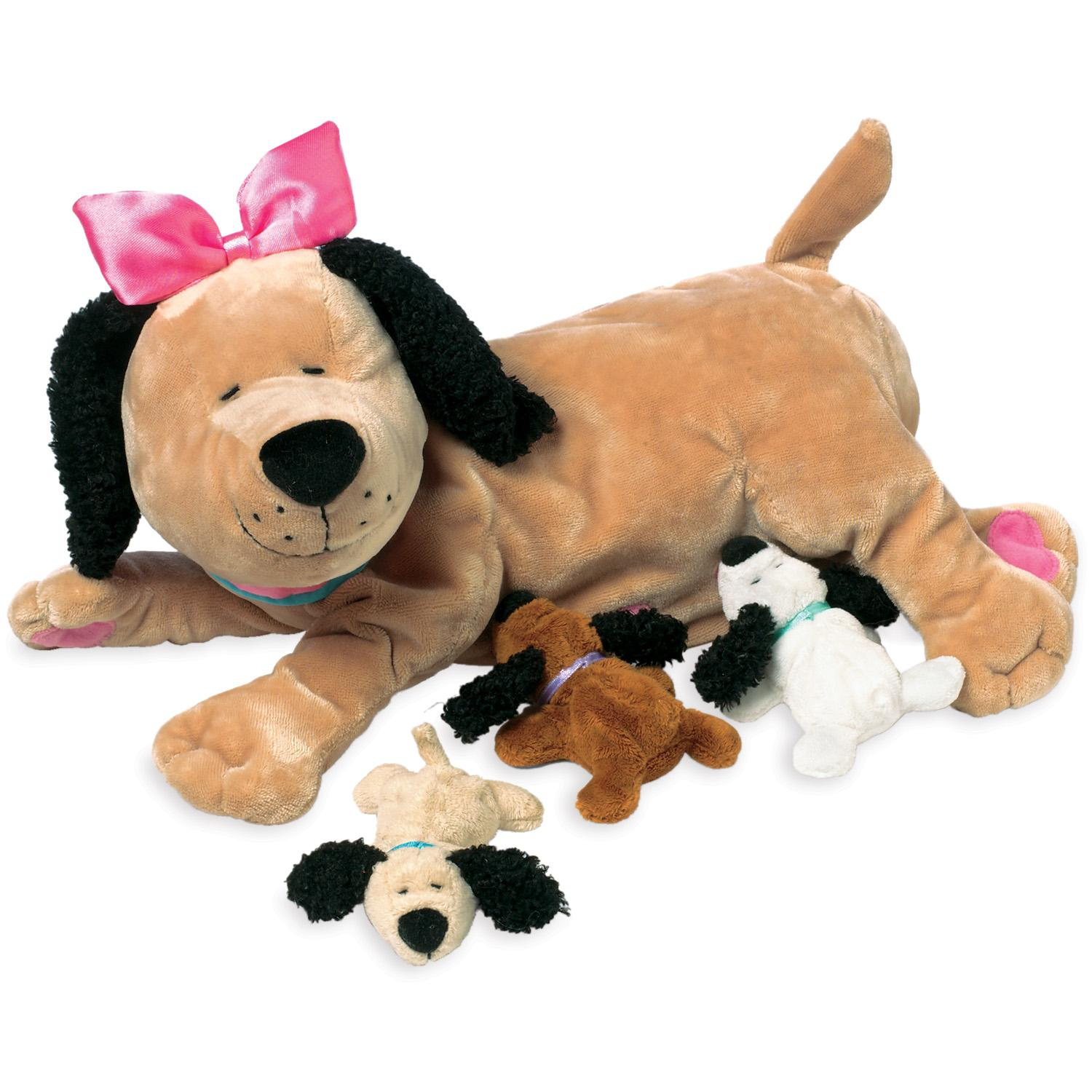 Amazon Com Manhattan Toy Nursing Nana Dog Nurturing Soft Toy Toys