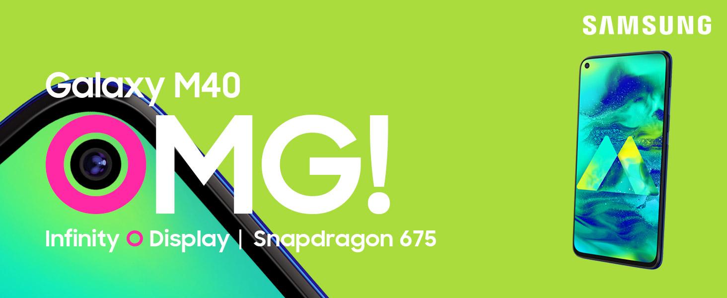 Samsung Galaxy M40 at Amazon Freedom Sale 2019