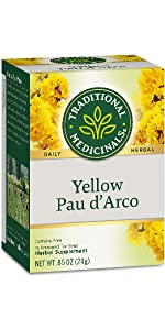 Traditional Medicinals Organic Yellow Pau d'Arco Herbal Tea