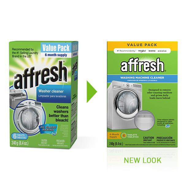 Affresh Washer Machine Cleaner 6 Tablets 8 4 Oz Amazon