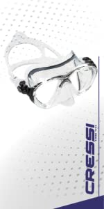 cressi, big eyes, mask, scuba, snorkeling, free diving