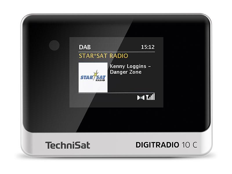Technisat Digitradio 10 C Dab Digitalradio Adapter Farb Display Bluetooth Fernbedienung Wecker Optimal Zur Aufrüstung Bestehender Hifi Anlagen Schwarz Silber Heimkino Tv Video