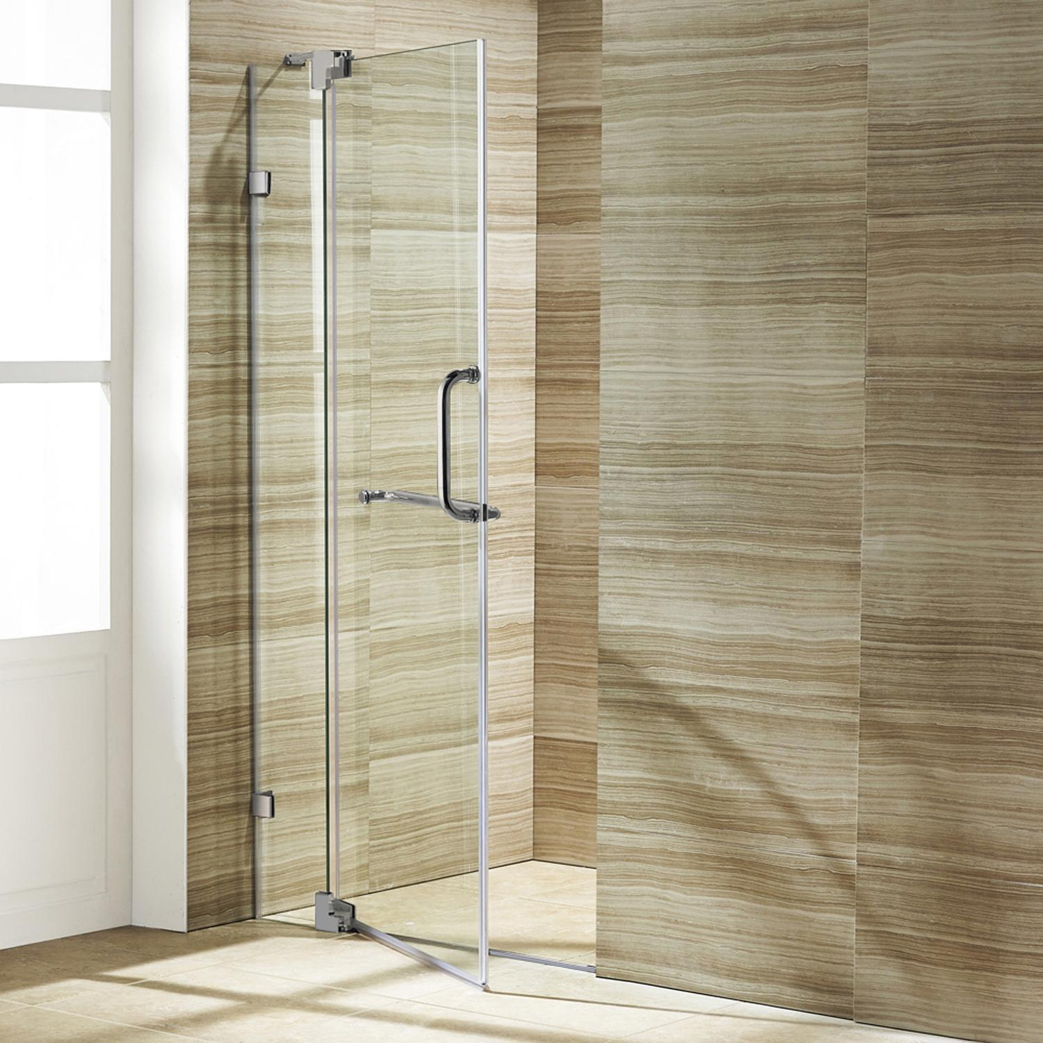 Vigo Offers Unparalleled Water Sealing On All Frameless Shower Doors,
