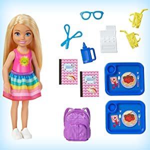 Barbie Club Chelsea Classroom Lunch Cafeteria Playground Playset