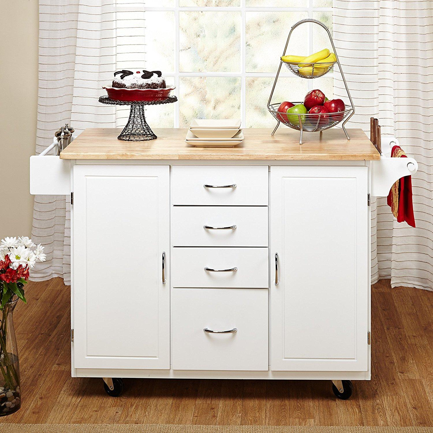Kitchen Trolley Designs Colors: Target Marketing Systems Two-Toned Country