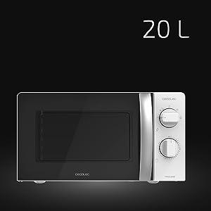 Cecotec Microondas ProClean 2010 de 20L de capacidad y 700W de ...