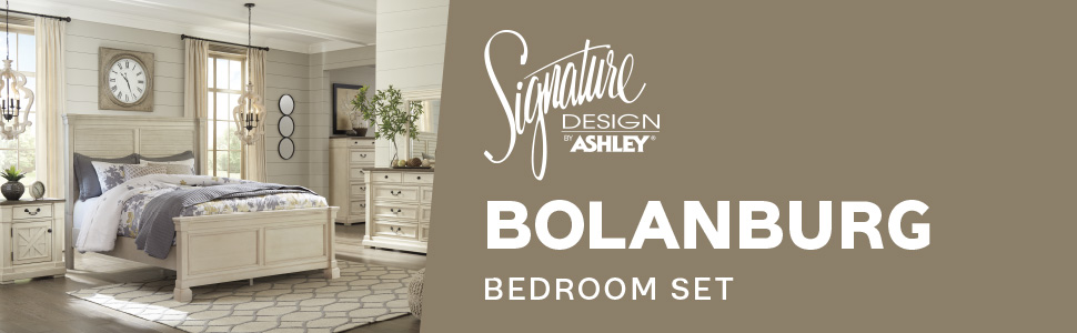 Bolanburg bedroom set signature design by ashley furniture collection b647 bed room