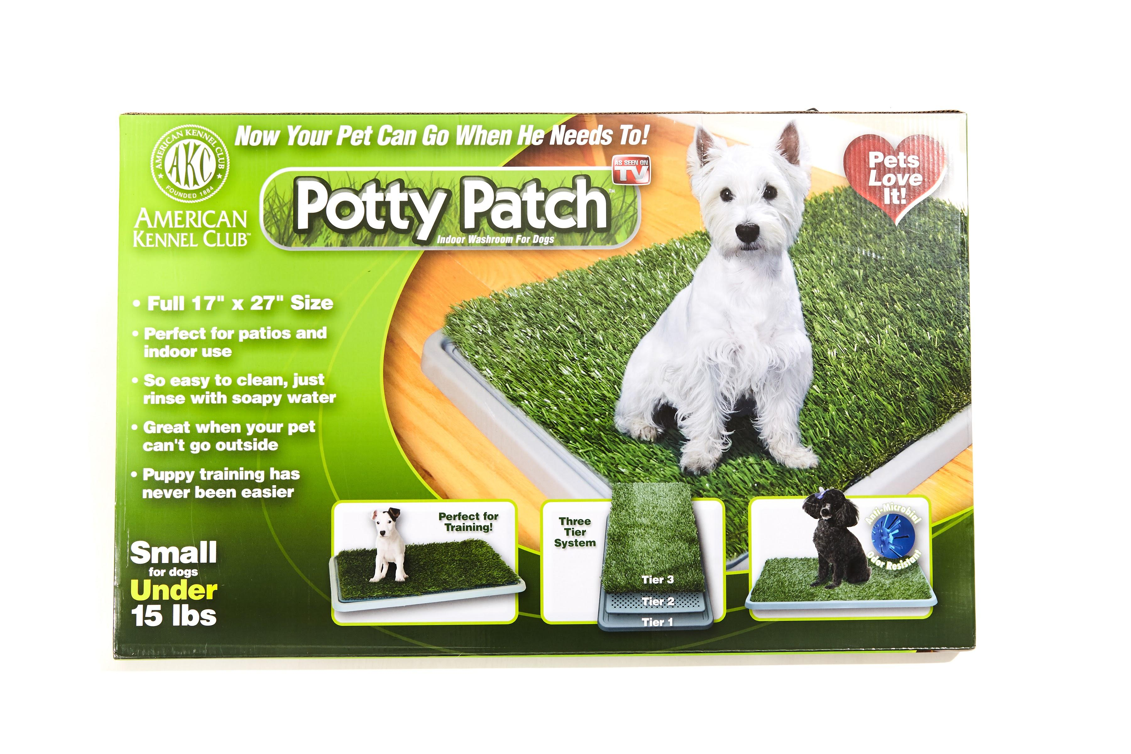 Amazon Potty Patch Economical Dog Litter Box and Grass