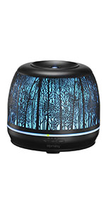 Homasy 500ml Essential Oil Diffuser
