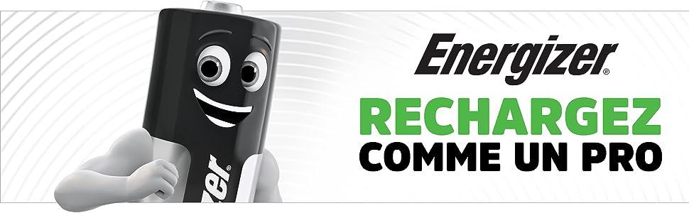 Energizer RECHARGEZ COMME UN PRO