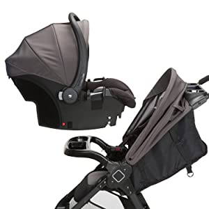 Safety 1st OnBoard35 LT Infant Car Seat Quickclick Connect Stroller Travel System