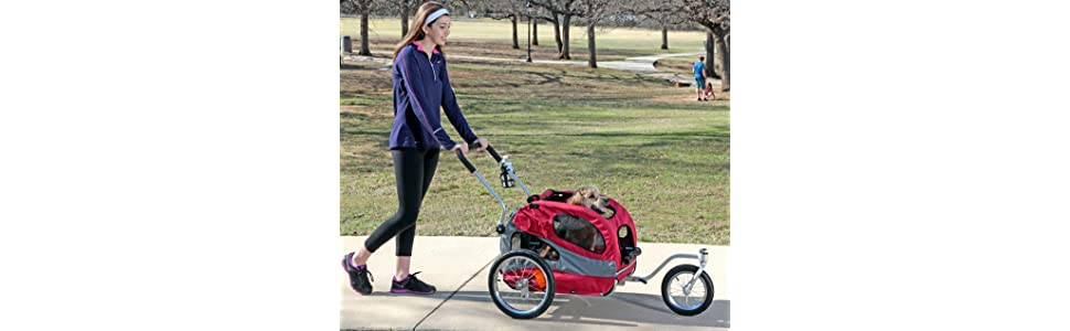 Amazon Com Petsafe Happy Ride Steel Dog Bicycle Trailer