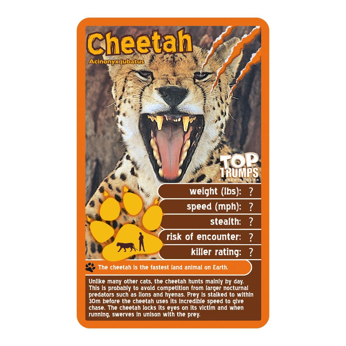 Amazon.com: Top Trumps Predators Card Game: Toys & Games