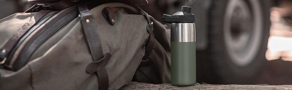 camelbak, water bottle, chute mag, reusable bottle, bpa free bottle, stainless steel water bottle