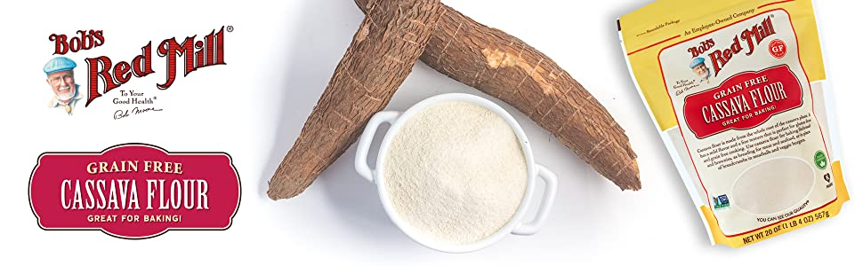 bobs red mill cassava flour tapioca gluten free gf non gmo verified ottos
