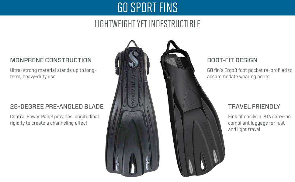 Scubapro GO Sport Diving Fins