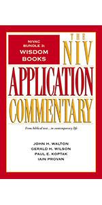 NIVAC Bundle 3: Wisdom Books