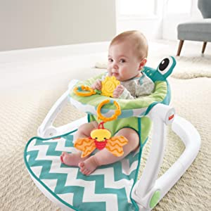 Amazon.com: Fisher-Price Sit-Me-Up - Asiento para piso ...