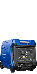 igen4500 inverter generator portable gas gasoline electric start low thd