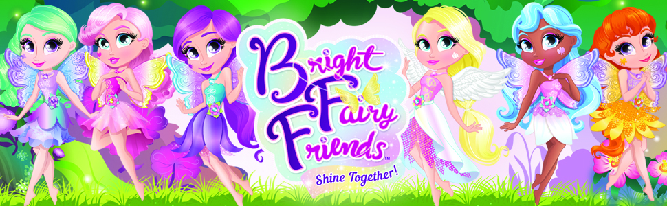 BFF Bright Fairy Friends Dolls