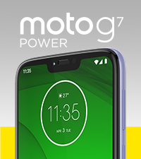 Moto G7 Power Violet