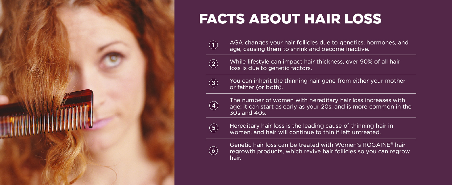 Facts About Thinning Hair