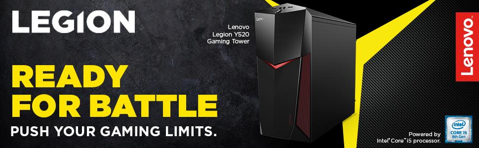 Lenovo Canada Legion Y520 Tower Gaming Computer Tower (Intel