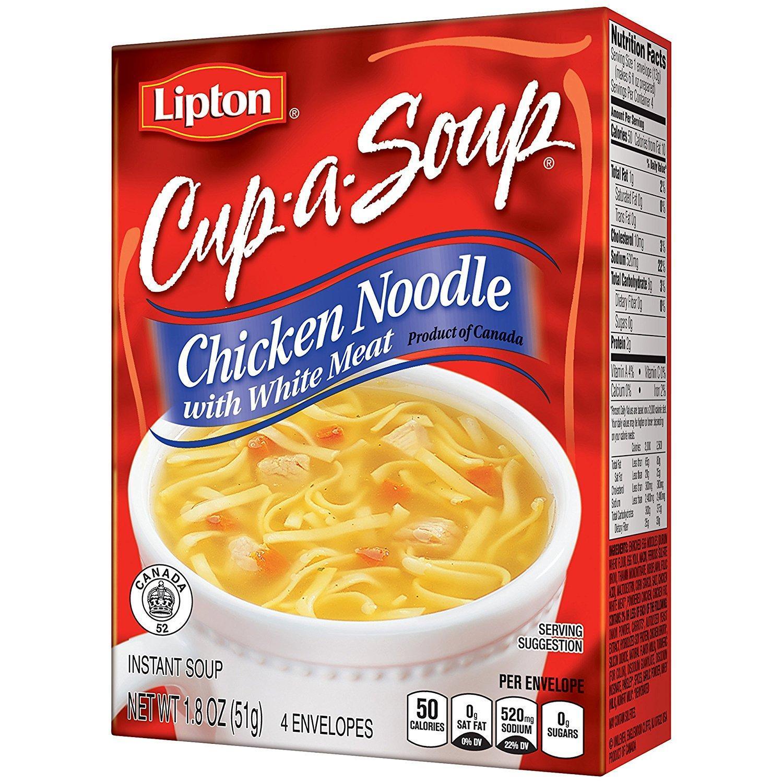 Amazon.com : Lipton Cup A Soup Instant Soup, Chicken