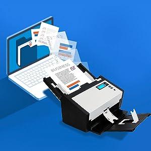 scanner, high speed scanner, office scanner, desktop scanner