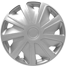 """Silver 05 on 13/"""" 13 Inch Car Wheel Trims Covers Black SUZUKI CARRY"""