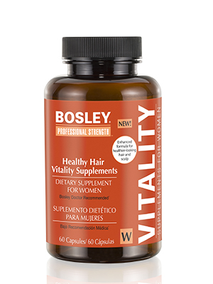 Bosley Professional Strength Hair Vitality Supplements For Women Amazon Sg Beauty