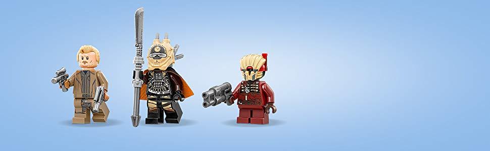 Gear NEW Authentic Star Wars 75215 Minifigure LEGO Tobias Enfys Nest Weazel Zabawki konstrukcyjne Zabawki konstrukcyjne LEGO