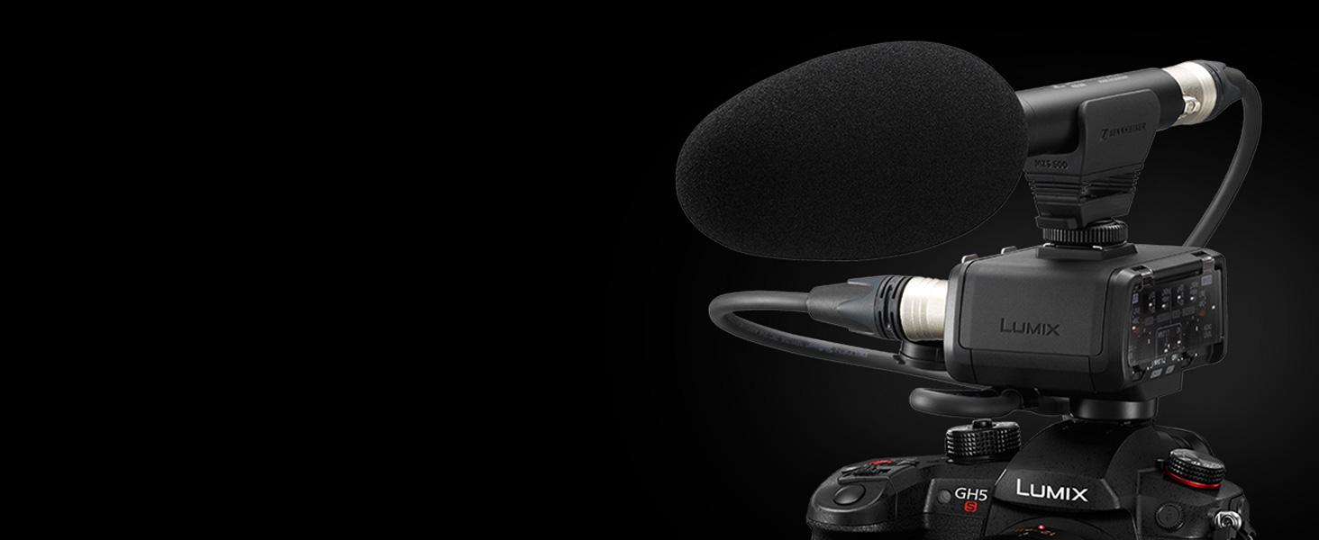 Panasonic Lumix DC-GH5s - DMW-XLR1 Microphone