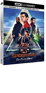 spider man far from home spidey tom holland 4K