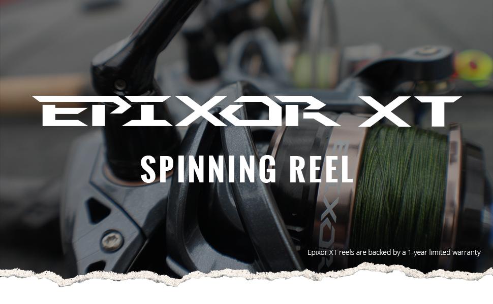 Okuma Fishing USA - Epixor XT Spinning Reel Header Image