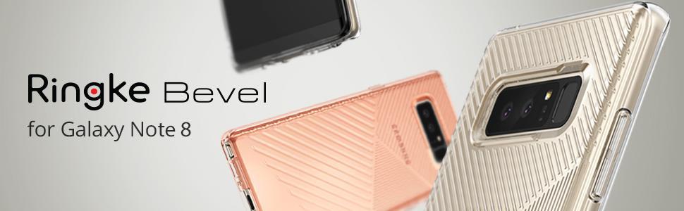 Cele mai usoare huse pentru Samsung Galaxy Note 8. Ringke Bevel