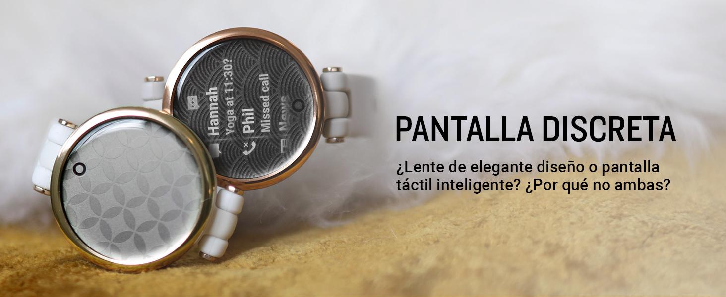 ¿Lente de elegante diseño o pantalla táctil inteligente? ¿Por qué no ambas?
