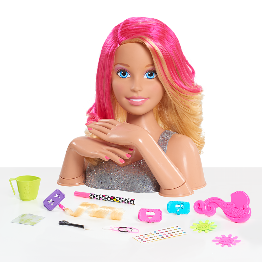 Amazon Com Just Play Barbie Deluxe Styling Head Blonde