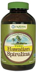 pure hawaiian spirulina superfood immunity nutrition multivitamin vitamin supplement chlorella