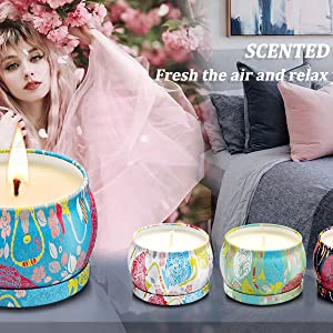 Scented Candles Gifts Sets for Women