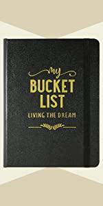 My Bucket List Journal - Living the Dream