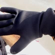mens fishing glove
