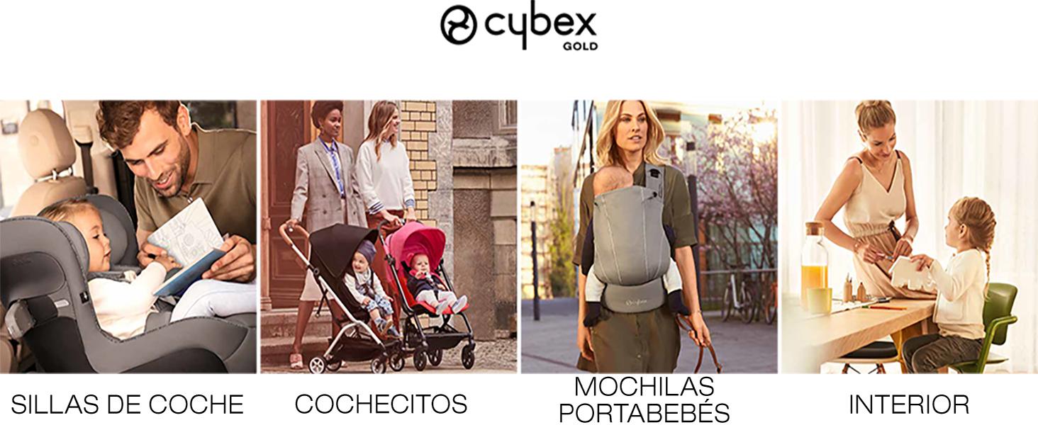 Cashmere Beige 100/% Algod/ón CYBEX Gold Mochila Portabeb/és MAIRA.tie 3,5 /– 15 kg aprox. desde el nacimiento hasta los 2 a/ños aprox.