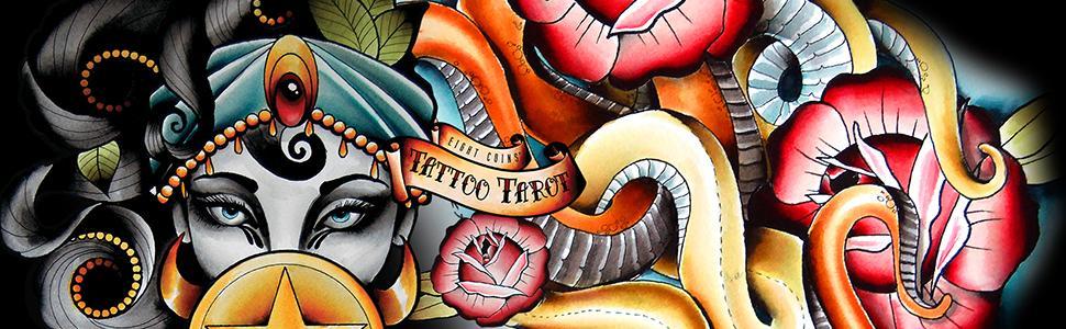 Eight Coins Tattoo Tarot: Lana Zellner: 9781572819191