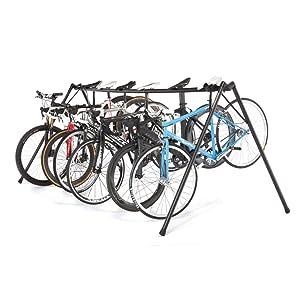 Free-standing A-Frame event bike storage