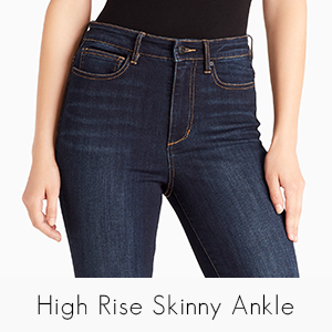 Ella Moss Womens High Rise Skinny Ankle Jean Jeans: Amazon