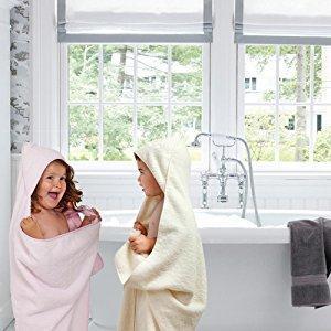 Clevamama Baby Kapuzen Handtuch Badetuch Badeponcho Als Schürze