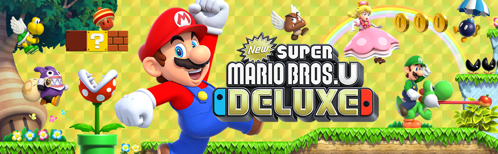 New Super Mario Bros  U™ Deluxe Switch: Amazon ca: Computer and