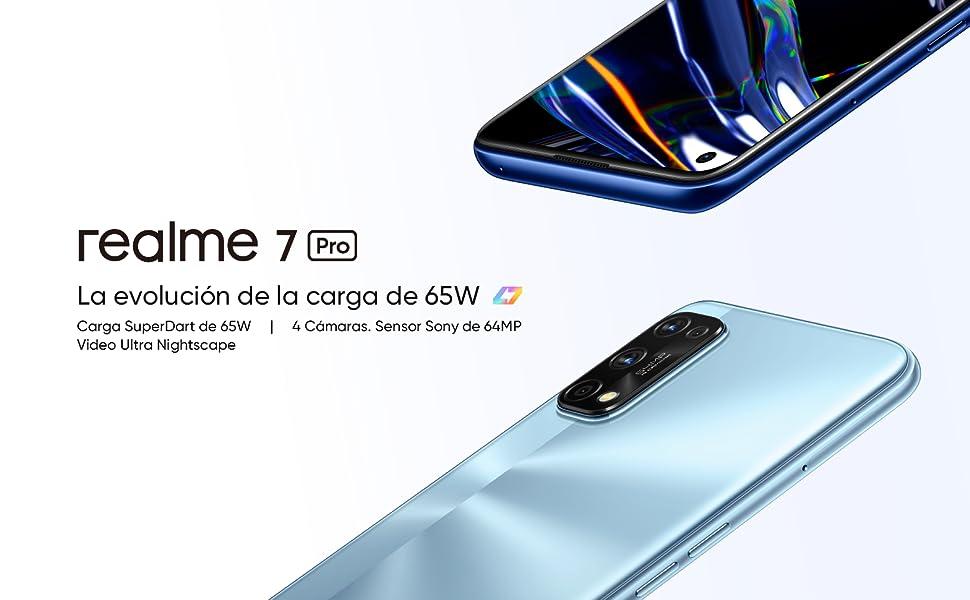 "comprar realme 7 Pro - Smartphone de 6.4"""", 8GB RAM + 128GB ROM"